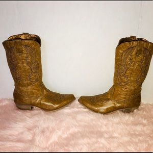 Free People Shoes - Coconut by Matisse tan cowboy boots